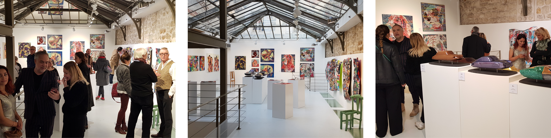 exposition JLF gallery espace marais marais